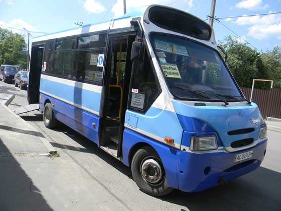 Ковель автобус для інвалідів